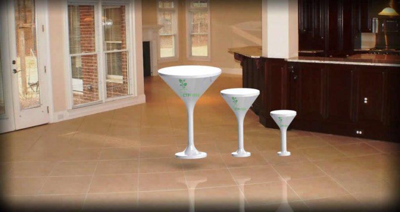Kokteyl Bistro Masası